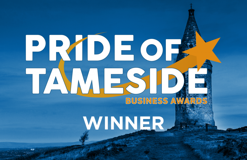 Pride of Tameside Winner Badge